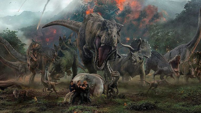 Jurassic World Fallen Kingdom group hero