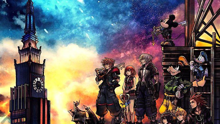 Kingdom Hearts III cover art cropped