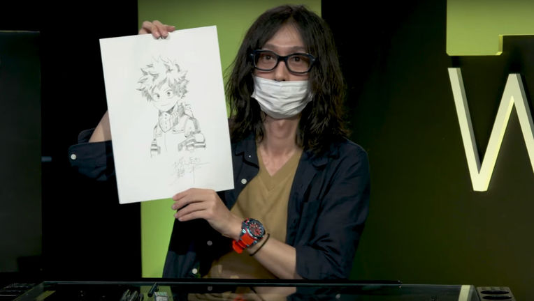 Kohei Horikoshi Artists Alley