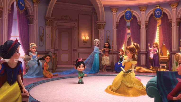 Disney Princesses Ralph Breaks the internet
