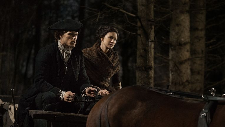 Outlander Season 4 Sneak Peek Sam Heughan Catriona Balfe