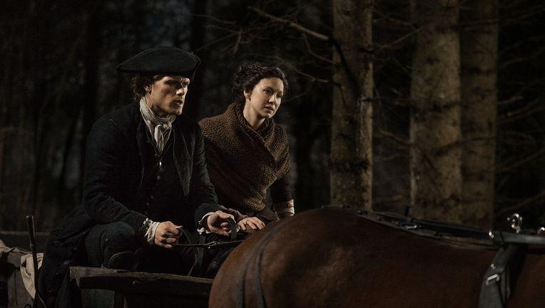 Outlander Season 4 Sneak Peek Sam Heughan Catriona Balfe