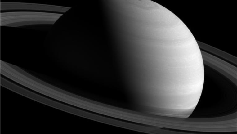 Cassini image of Saturn