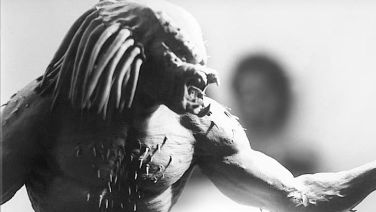 Predator original costume concept by Stan Winston School