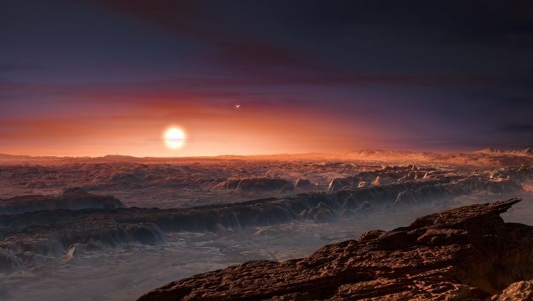 ESO image of Proxima Centauri