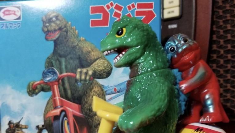 Godzilla minya tricycle