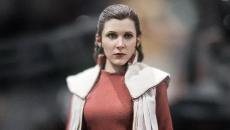 Princess Leia sideshow