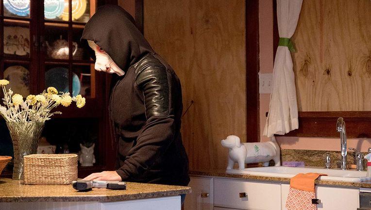 The Purge TV series pig mask hero