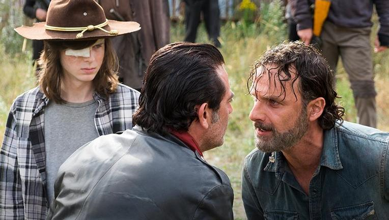 The Walking Dead Andrew Lincoln, Jeffrey Dean Morgan, Chandler Riggs