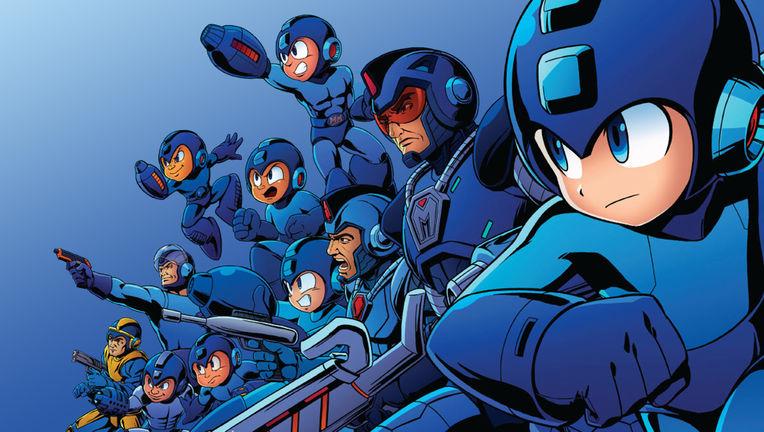 Mega Man - Group