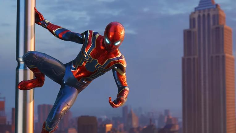 Iron Spider-Man ps4