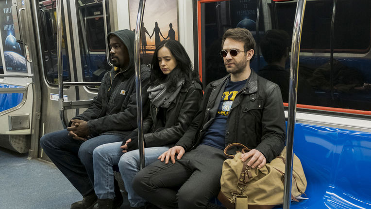 The Defenders Daredevil Jessica Jones Luke Cage