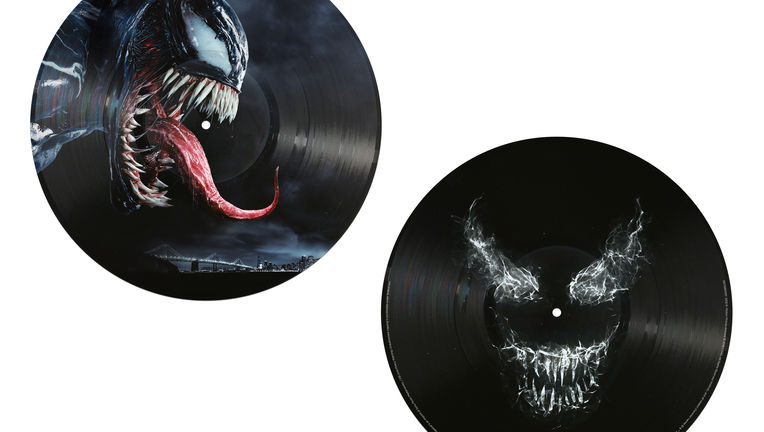 19075897622 Venom OST_12inch_PictureDisc_GD30PD packshot Side-by-side offset