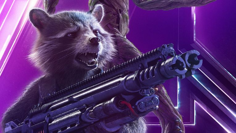 Rocket Raccoon, Infinity War