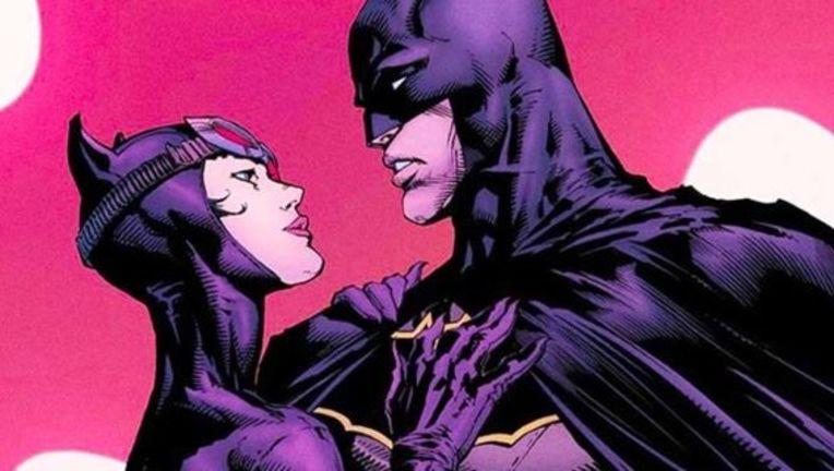 Batman Catwoman engaged