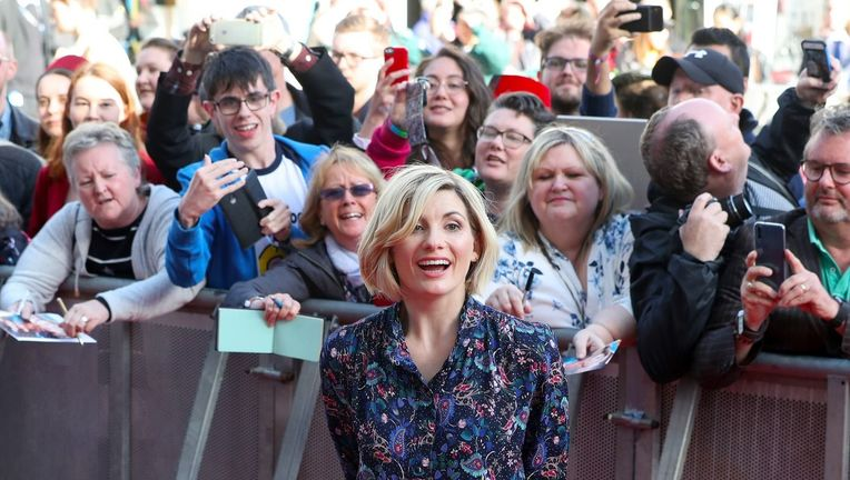 Doctor Who Jodie Whittaker and Fans