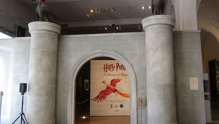 New York-Historical Society Harry Potter: A History of Magic exhibition
