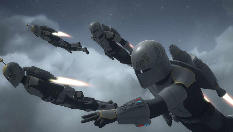 Mandalorians Clone Wars