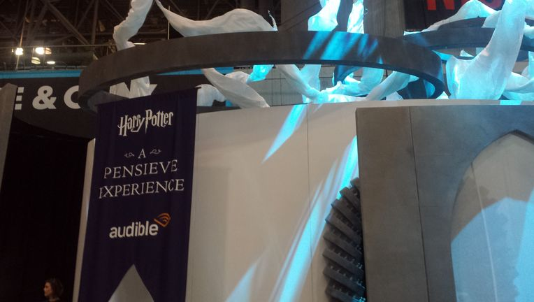 Harry Potter Pensieve Experience New York Comic Con