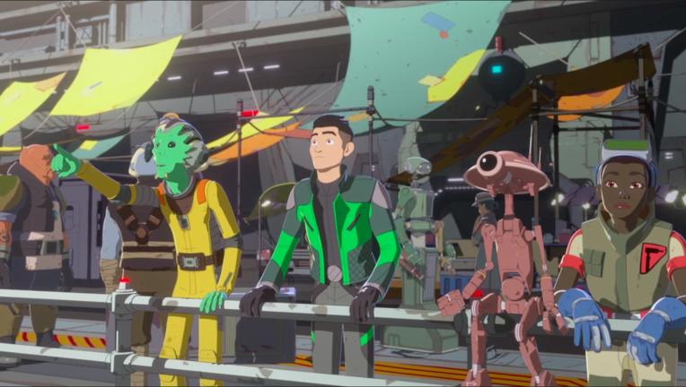 Star Wars Resistance hero