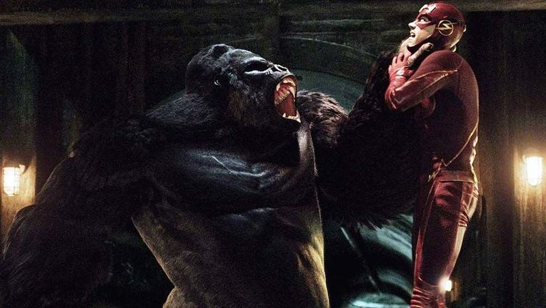 The Flash Gorilla Grodd hero