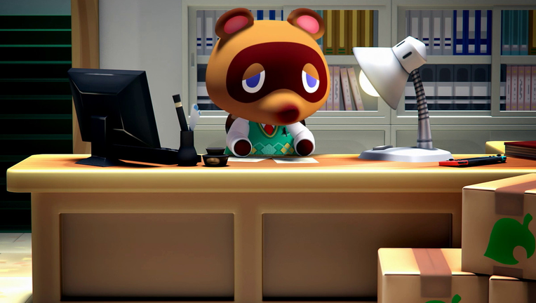 Animal Crossing Switch - Tom Nook