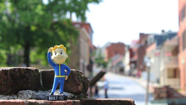 Vault Boy Fallout 76  West Virginia