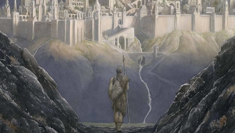 The Fall of Gondolin, J.R.R. Tolkien, Alan Lee