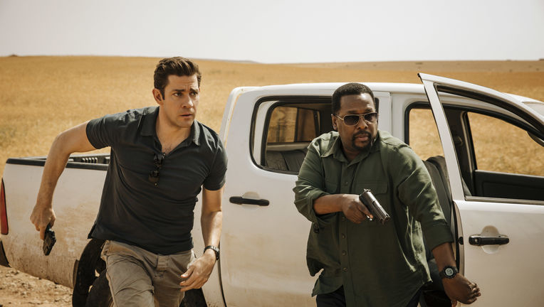 Tom Clancy's Jack Ryan, Wendell Pierce and John Krasinski