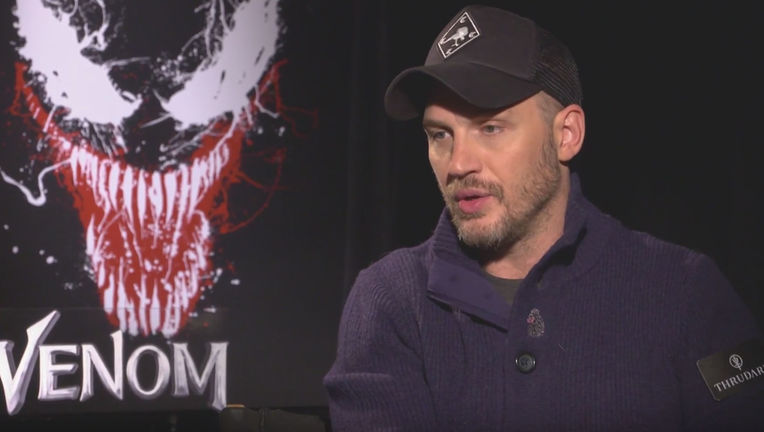 Tom Hardy Venom interview