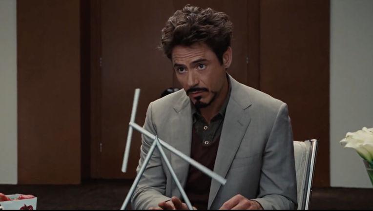 Iron Man 2- Robert Downey Jr. as Tony Stark (Office scene)