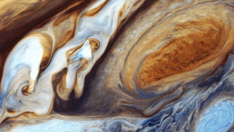 Jupiter from Voyager