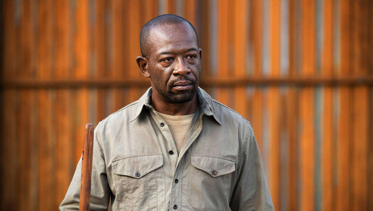 Morgan on The Walking Dead
