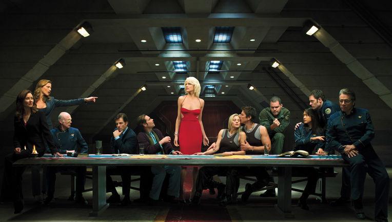 Battlestar Galactica (Reboot- Last Supper Promo Image