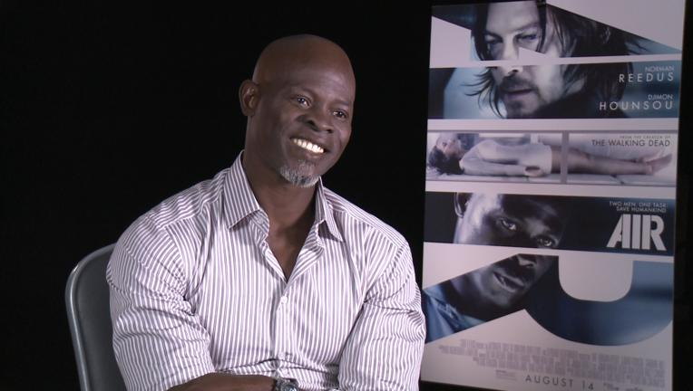 djimon hounsou interview