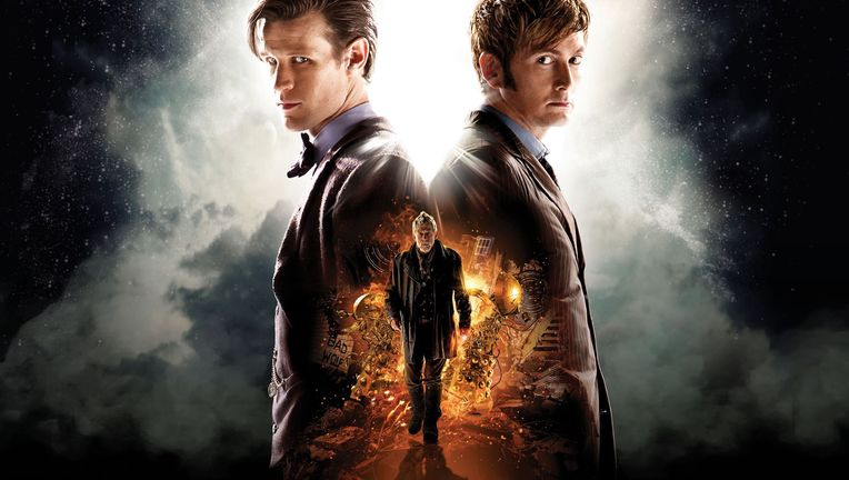 Doctor Who's 50th Anniversary special episode, Day of the Doctor with Matt Smith and David Tennant