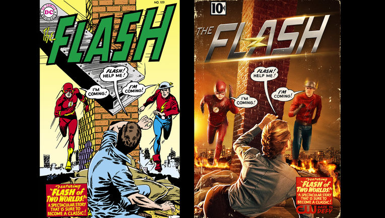 The Flash - Jay Garrick - Barry Allen