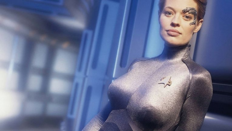Star Trek Voyager's Jeri Ryan
