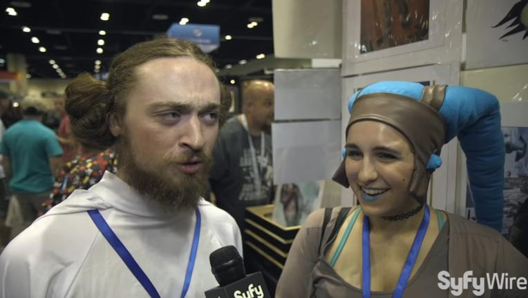 Princess Leia Star Wars Celebration interviews
