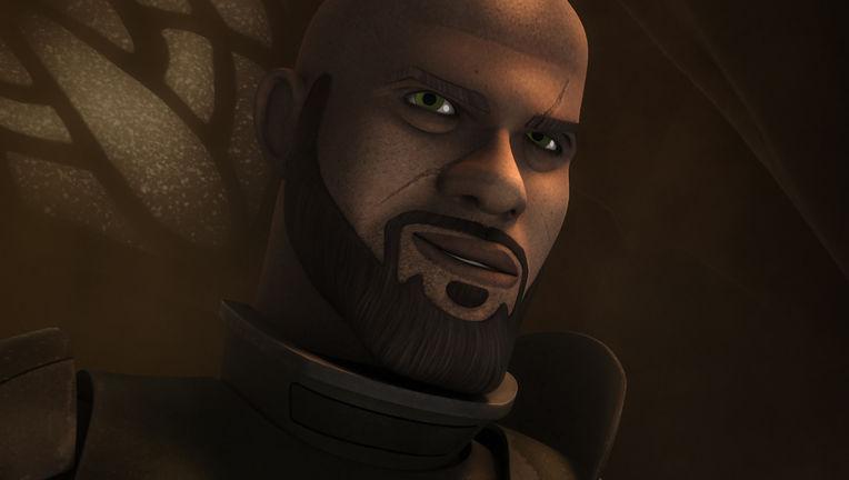 Saw Gerrera on Star Wars Rebels