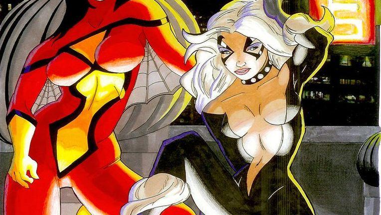 Spider-Woman & Black Cat