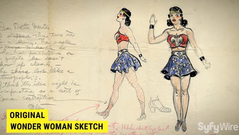 Christie Marston, Wonder Woman's granddaughter