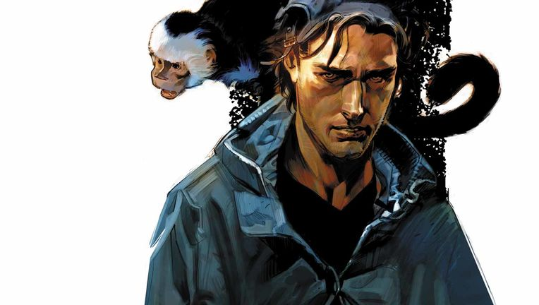 Y: The Last Man- Yorick and Ampersand