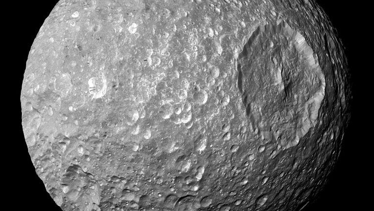 Mimas, the Death Star moon