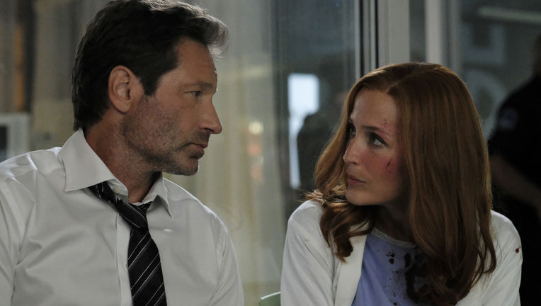 The X-Files episode 1101 My Struggle III - Mulder and Scully