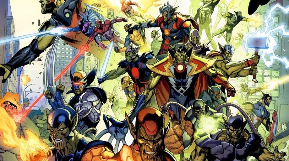 Secret Invasion, skrull Marvel Comics