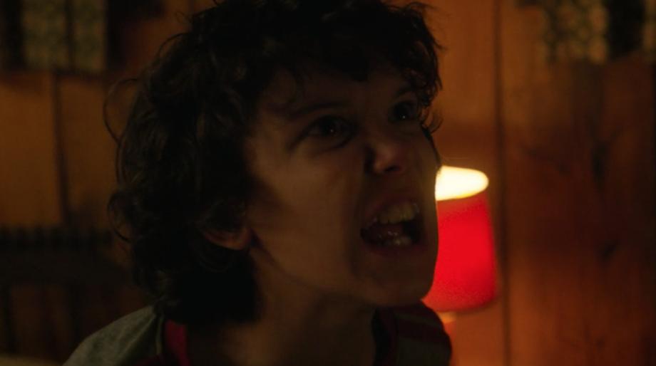 Stranger Things eleven screaming
