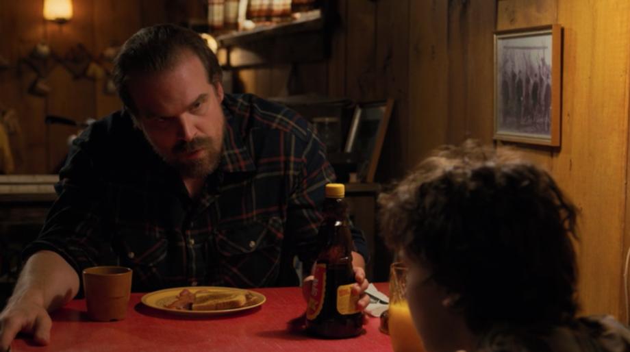 Stranger Things Eleven Hopper compromise
