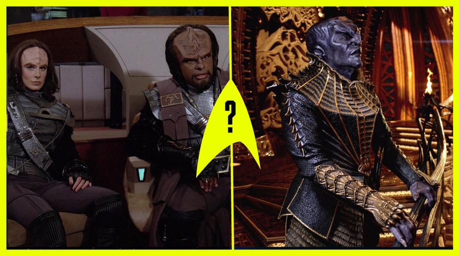 TNG Klingons vs. DSC Klingons