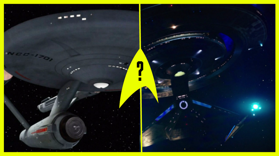 USS Enterprise and USS Discovery